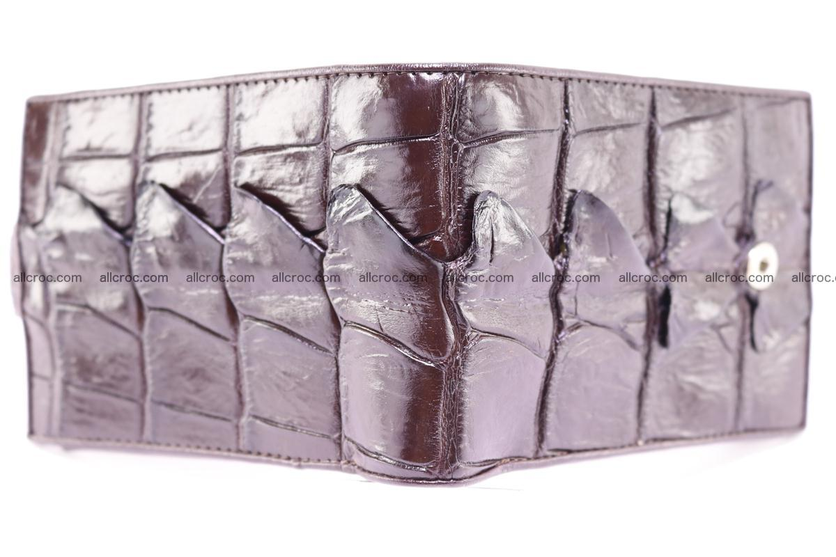 Siamese crocodile wallet with half belt and coins compartment 277 Foto 2