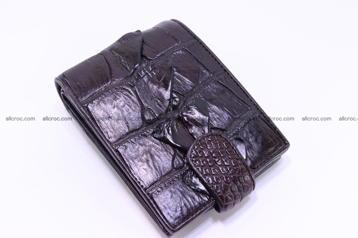 Siamese crocodile wallet with half belt and coins compartment 277 Foto 4