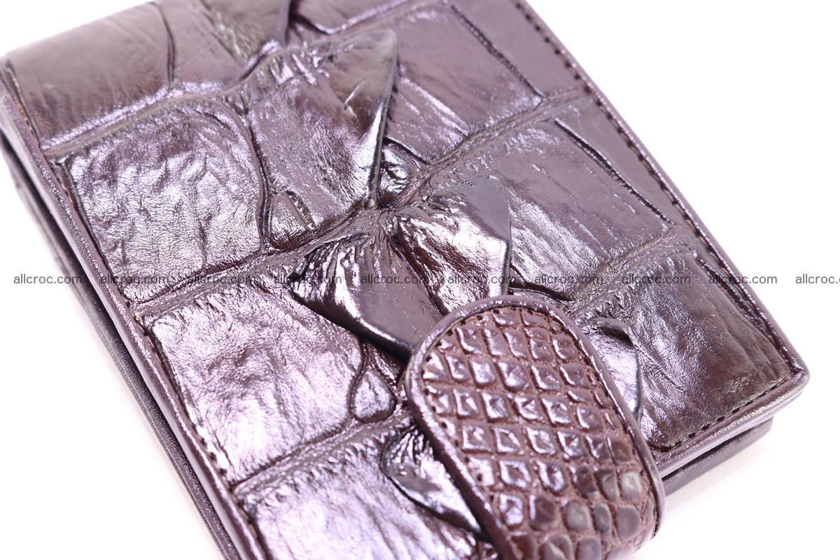 Siamese crocodile wallet with half belt and coins compartment 277 Foto 5