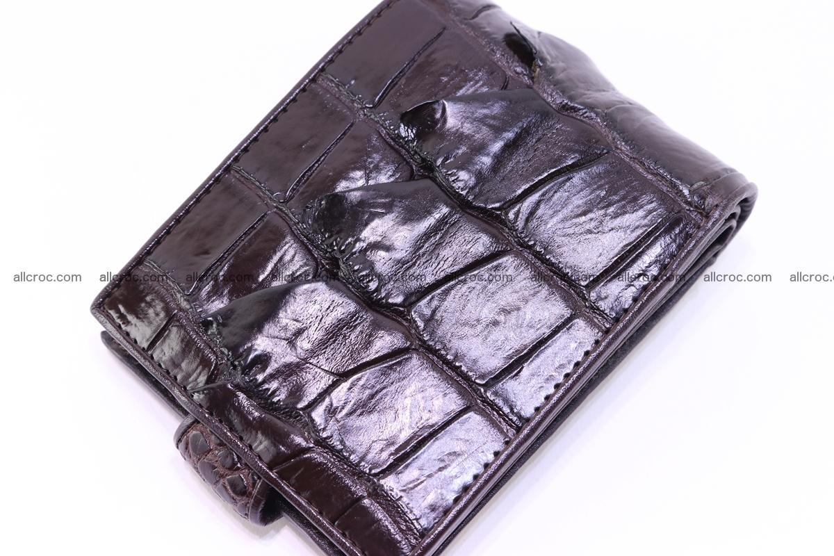 Siamese crocodile wallet with half belt and coins compartment 277 Foto 3