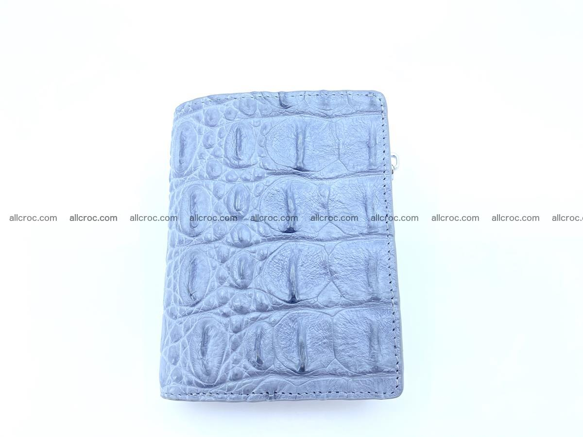 Crocodile leather vertical wallet HK 640 Foto 0