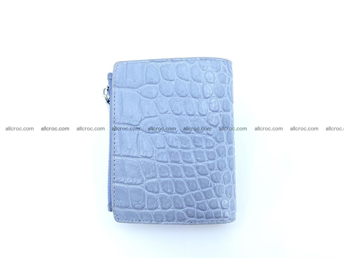 Crocodile leather vertical wallet HK 640 Foto 1