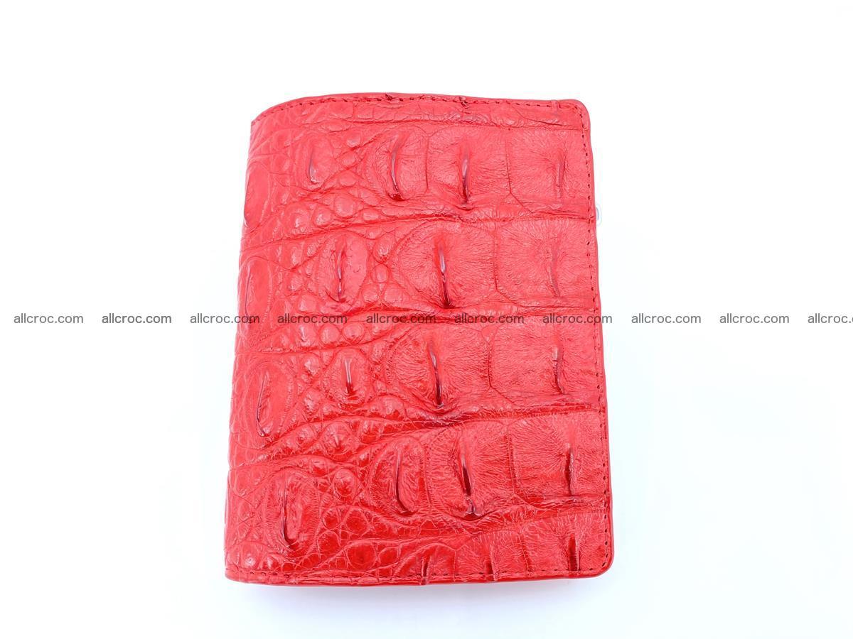 Crocodile leather vertical wallet HK 638 Foto 0