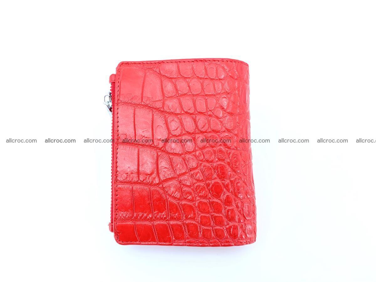 Crocodile leather vertical wallet HK 638 Foto 1