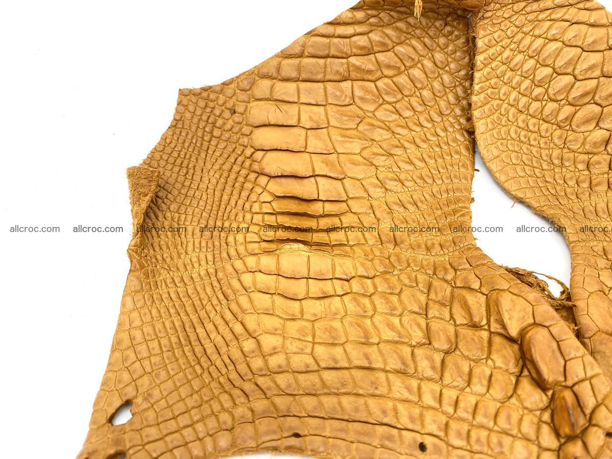 Crocodile leather for handcrafting  840 Foto 1