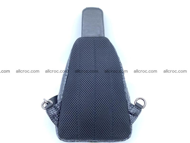 Sling bag from crocodile skin 888