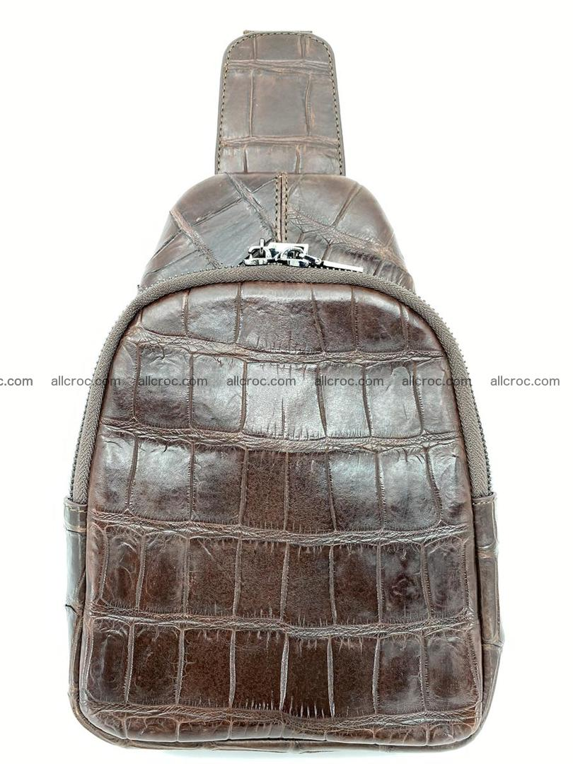 Sling bag from crocodile skin 887 Foto 1