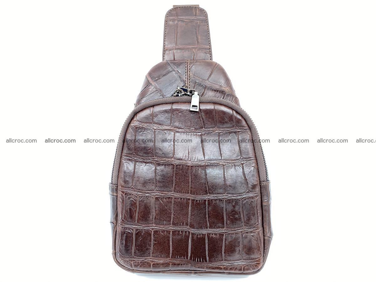 Sling bag from crocodile skin 887 Foto 0