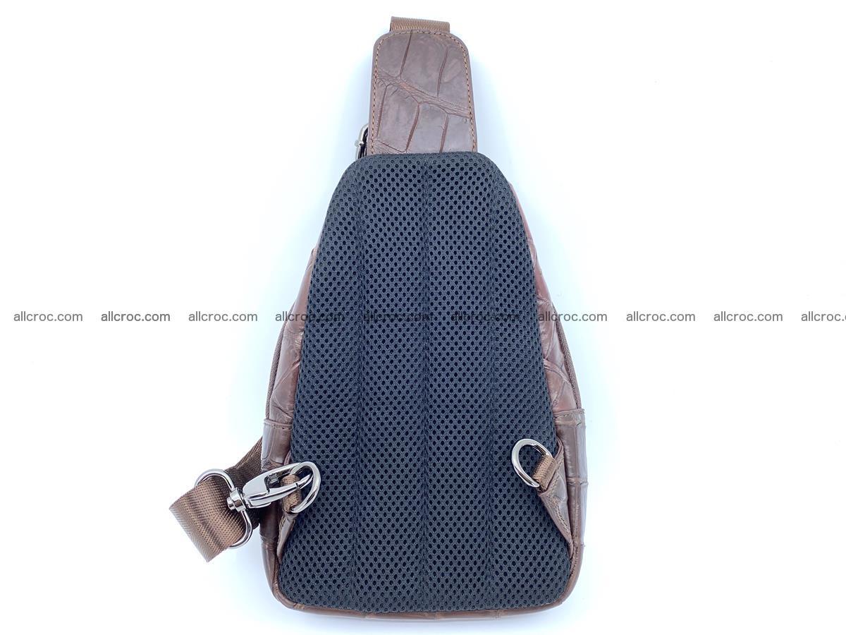 Sling bag from crocodile skin 887 Foto 2