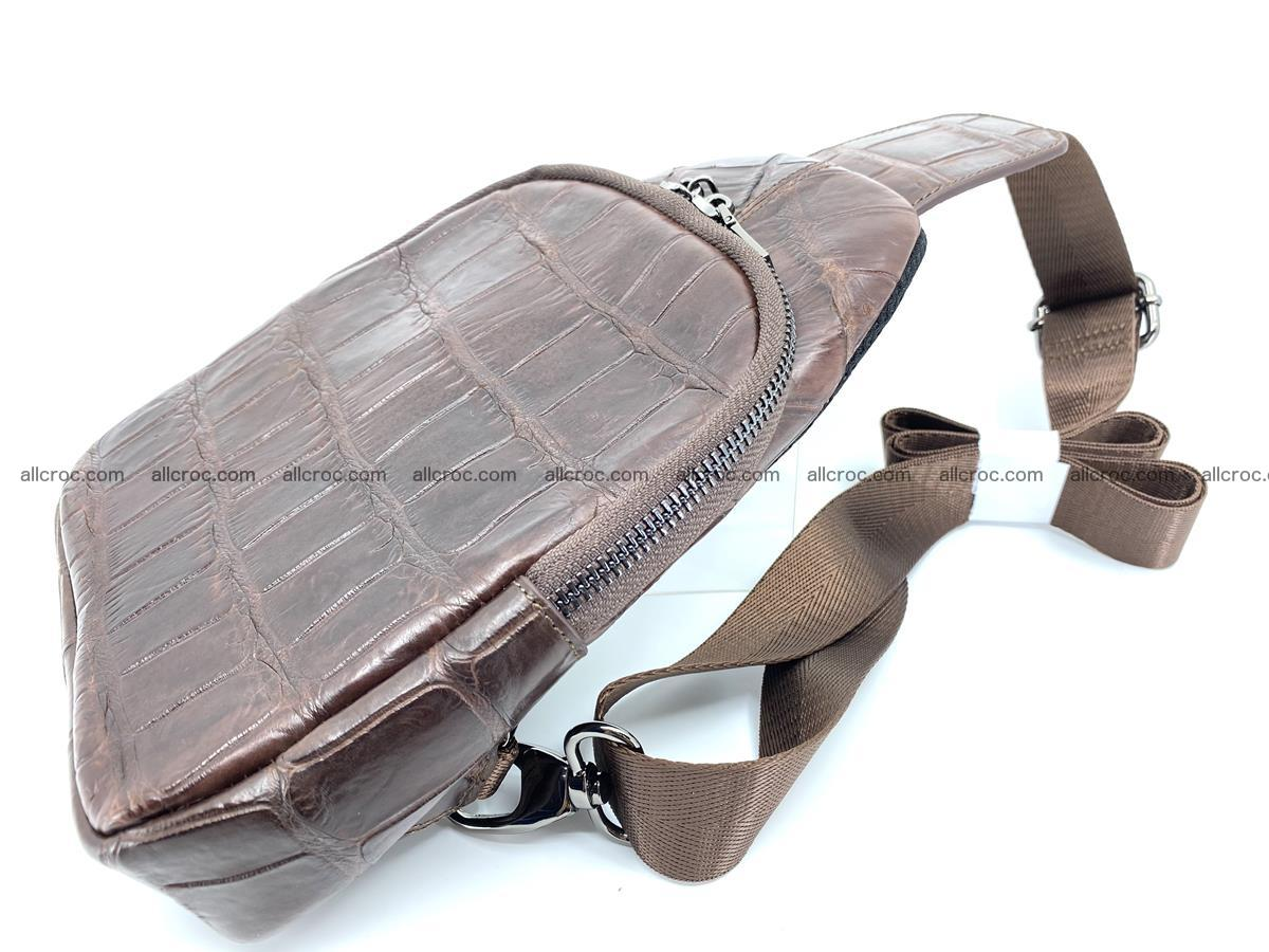 Sling bag from crocodile skin 887 Foto 3