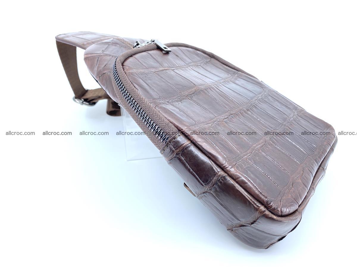 Sling bag from crocodile skin 887 Foto 4