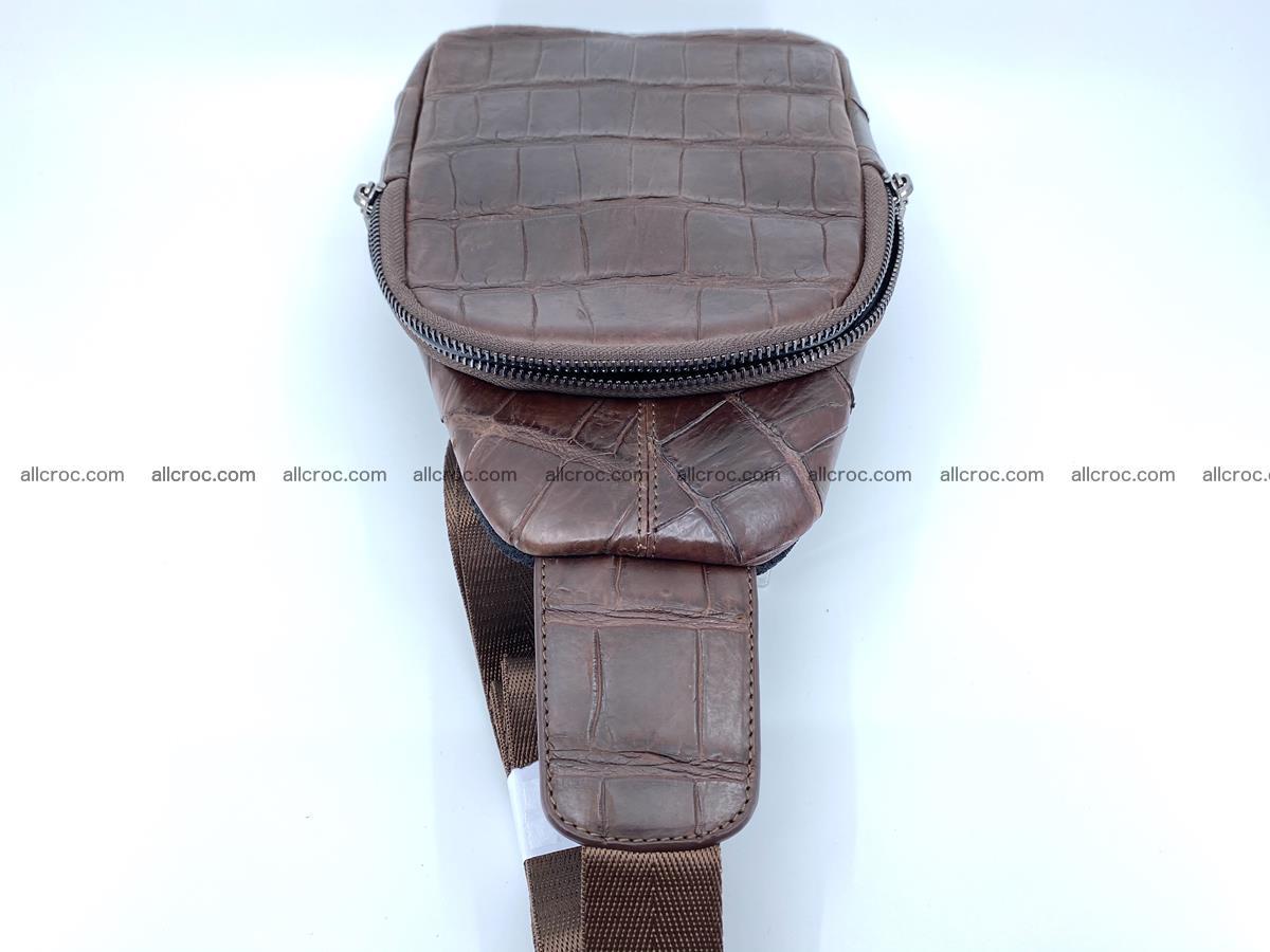 Sling bag from crocodile skin 887 Foto 6