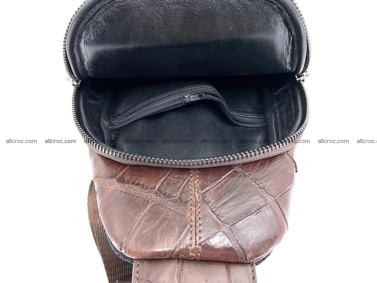Sling bag from crocodile skin 887 Foto 5