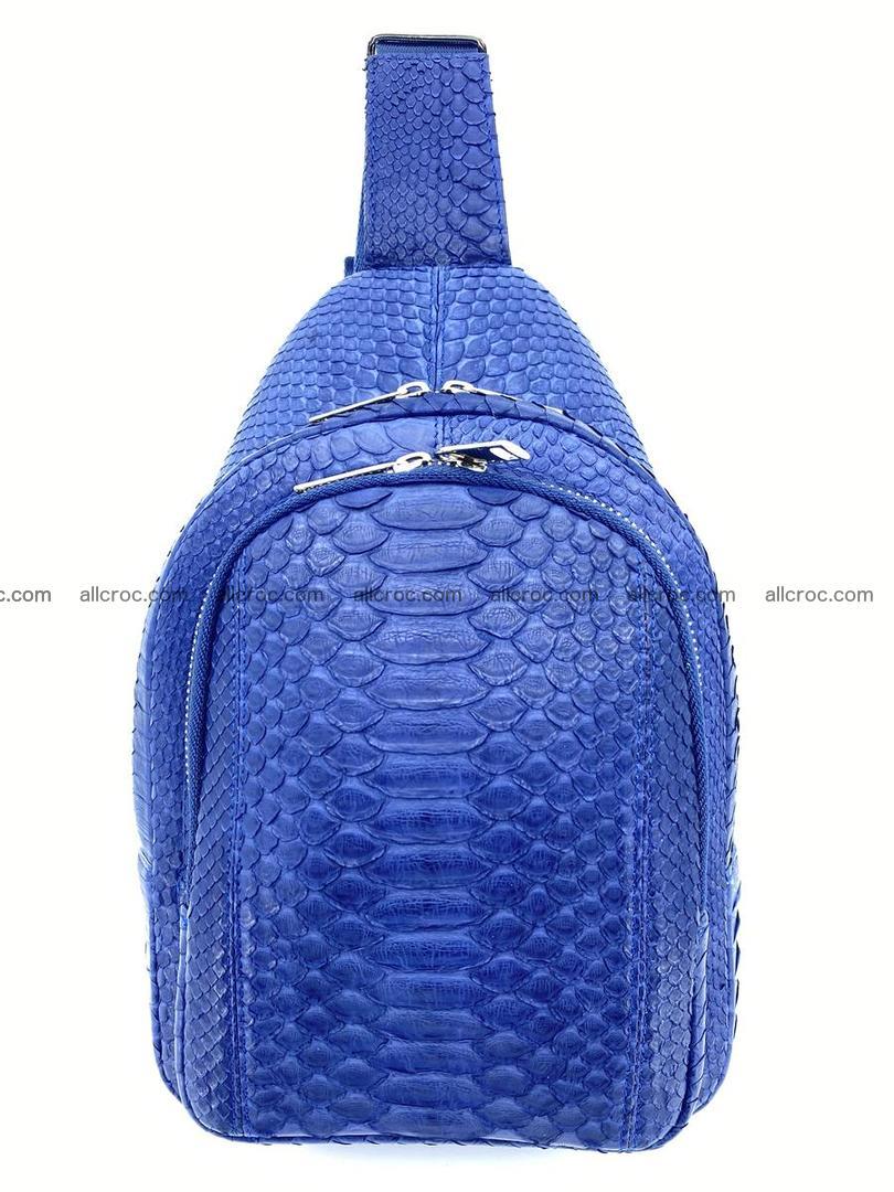 Sling bag from python snake skin 891 Foto 0