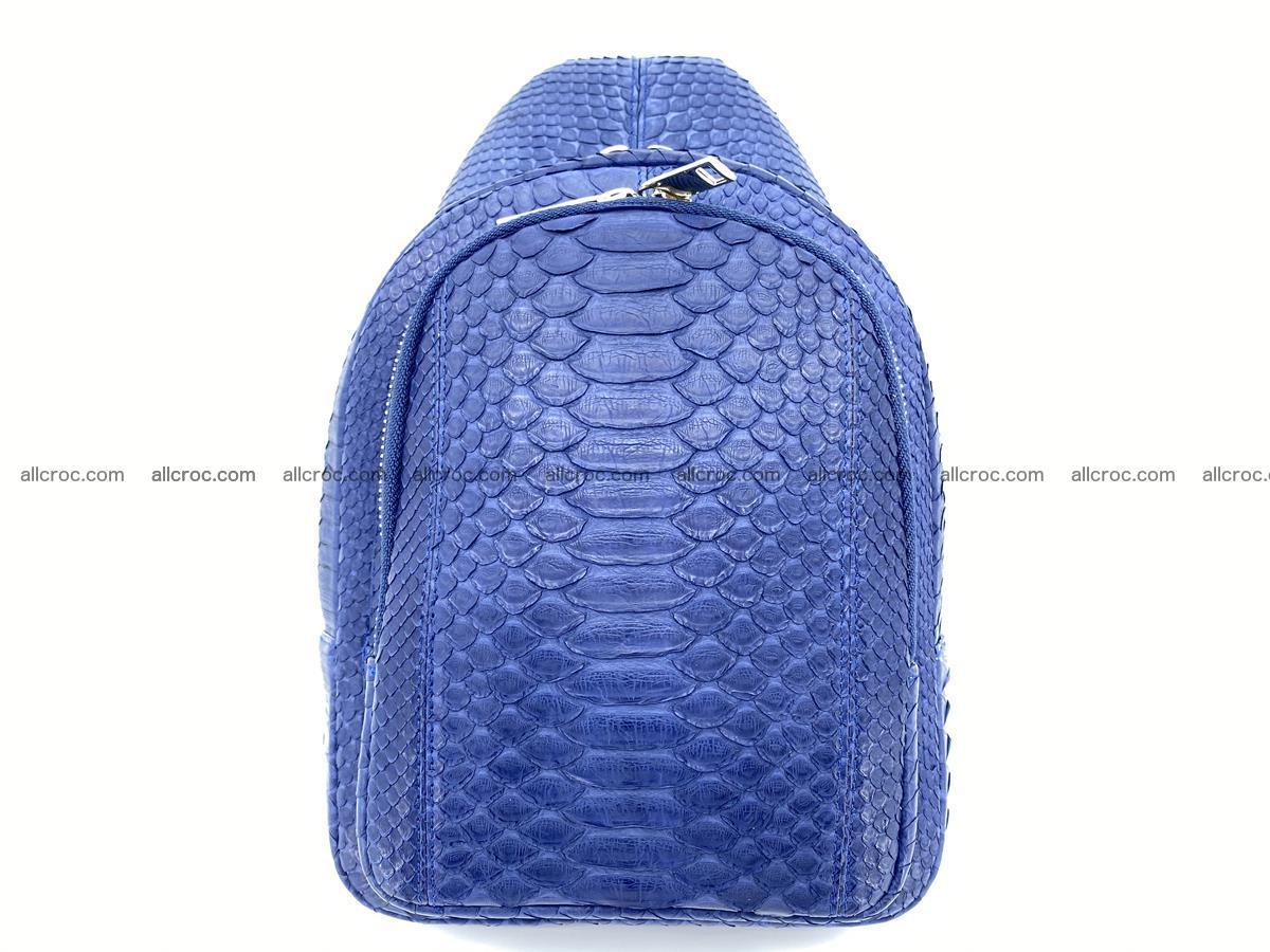 Sling bag from python snake skin 891 Foto 1