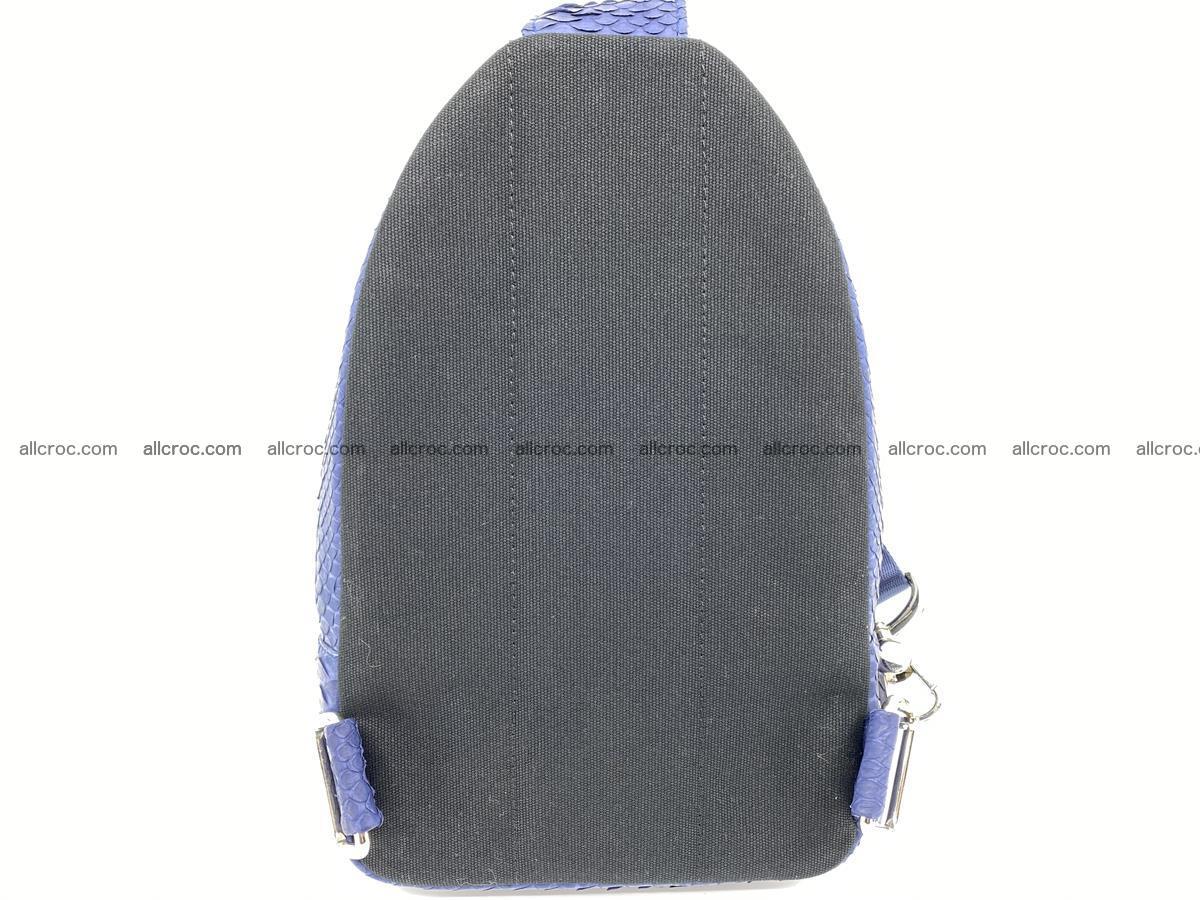 Sling bag from python snake skin 891 Foto 2