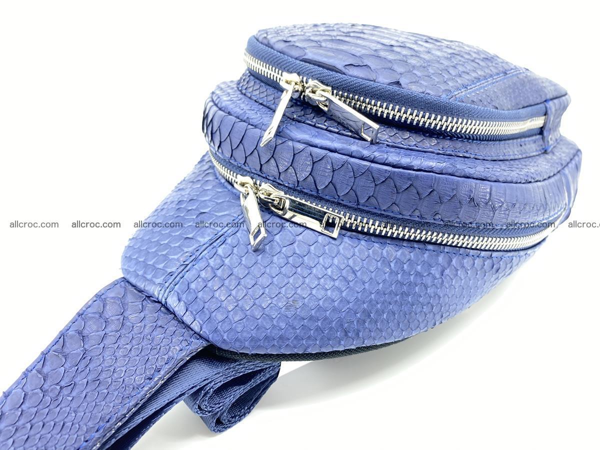 Sling bag from python snake skin 891 Foto 8
