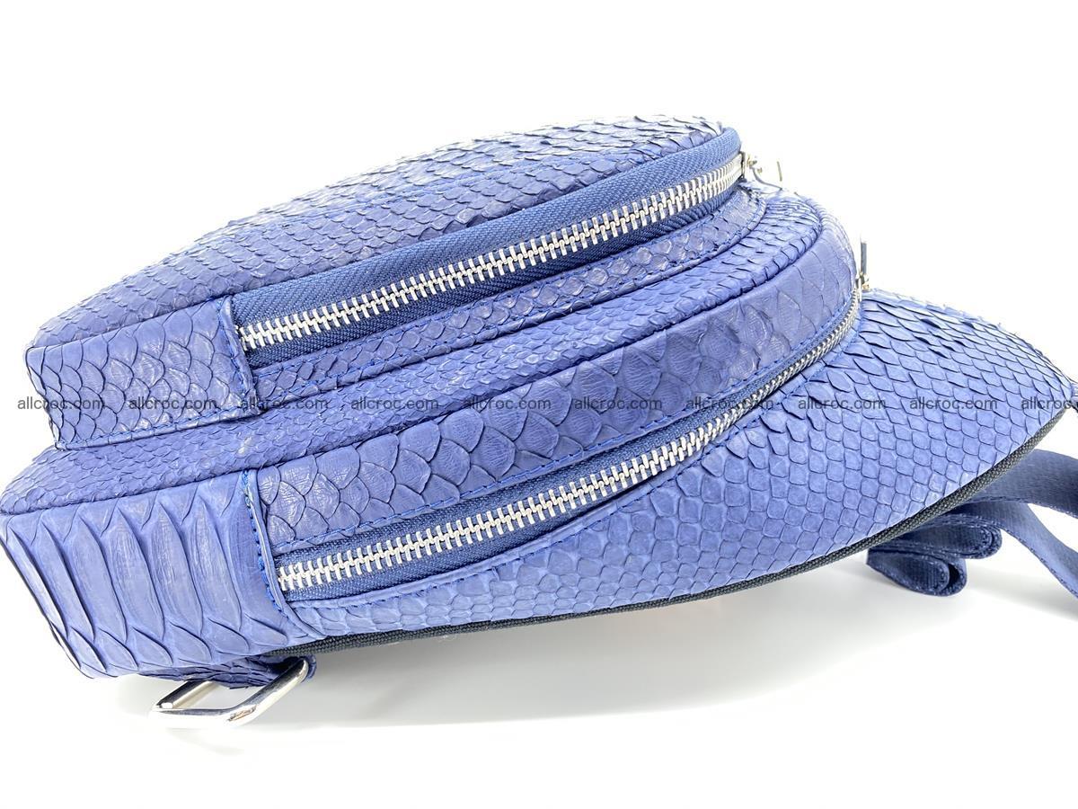 Sling bag from python snake skin 891 Foto 7