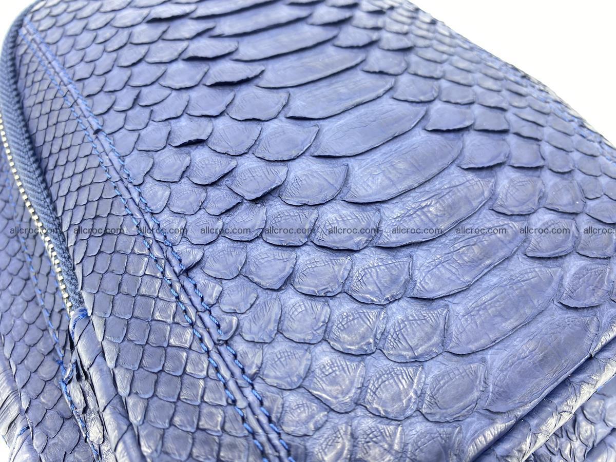 Sling bag from python snake skin 891 Foto 4