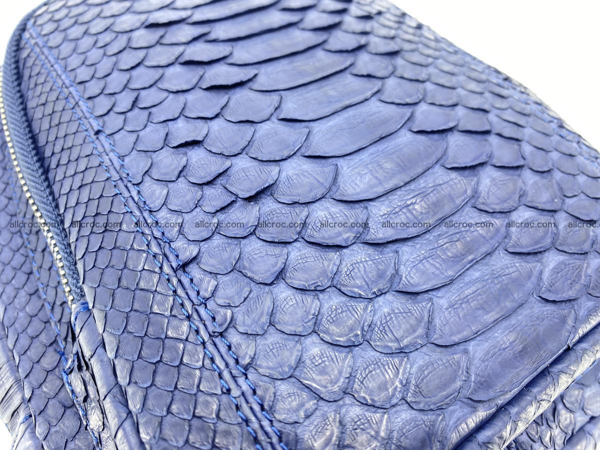 Sling bag from python snake skin 891 Foto 5