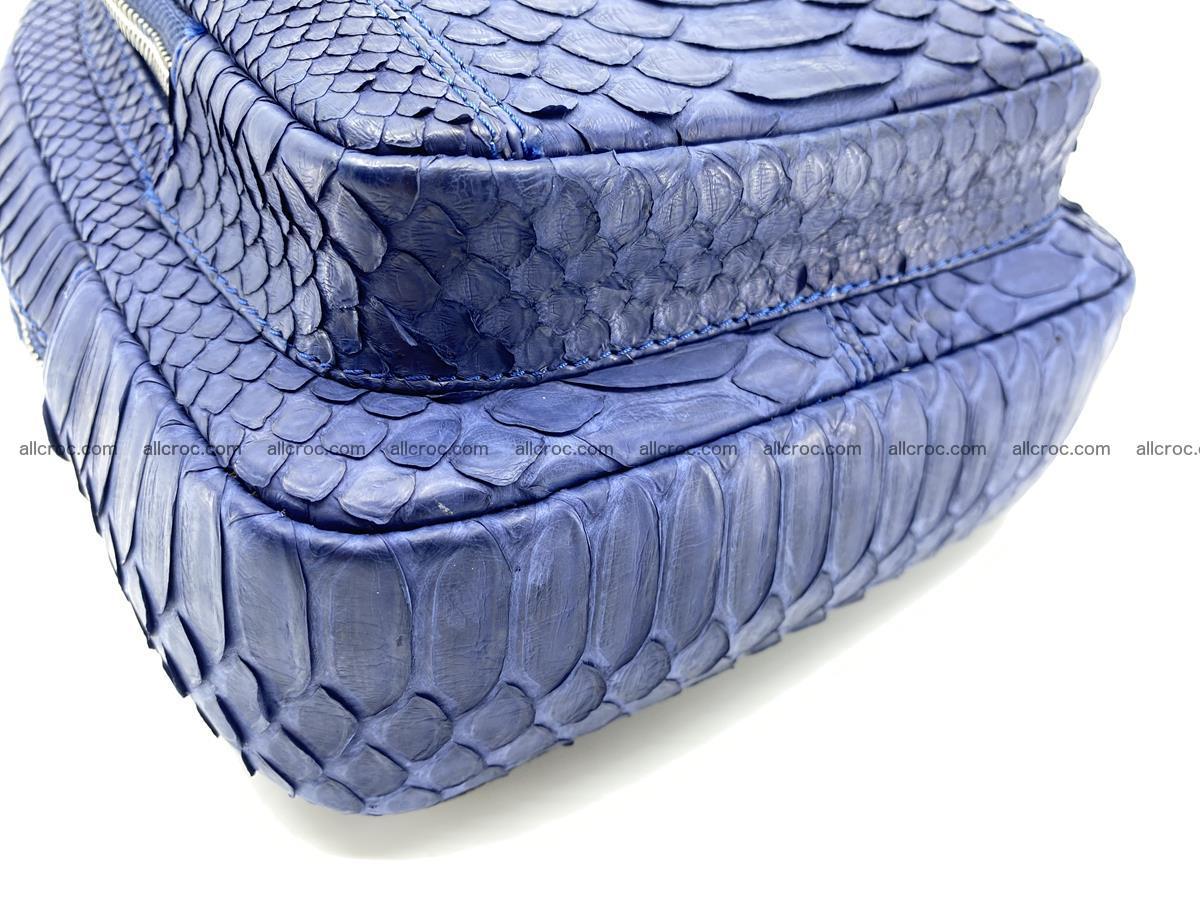 Sling bag from python snake skin 891 Foto 3