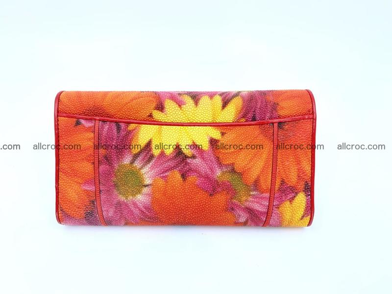 Stingray leather long wallet 1111