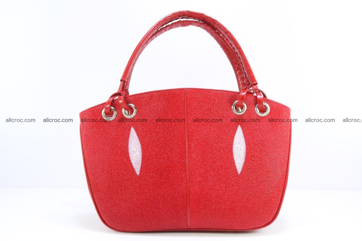 Stingray leather women's handbag 387 Foto 0