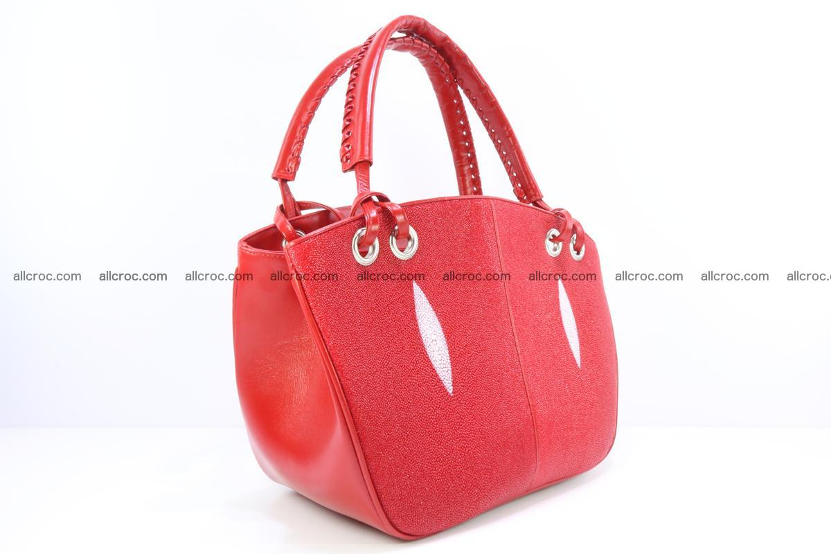 Stingray leather women's handbag 387 Foto 1