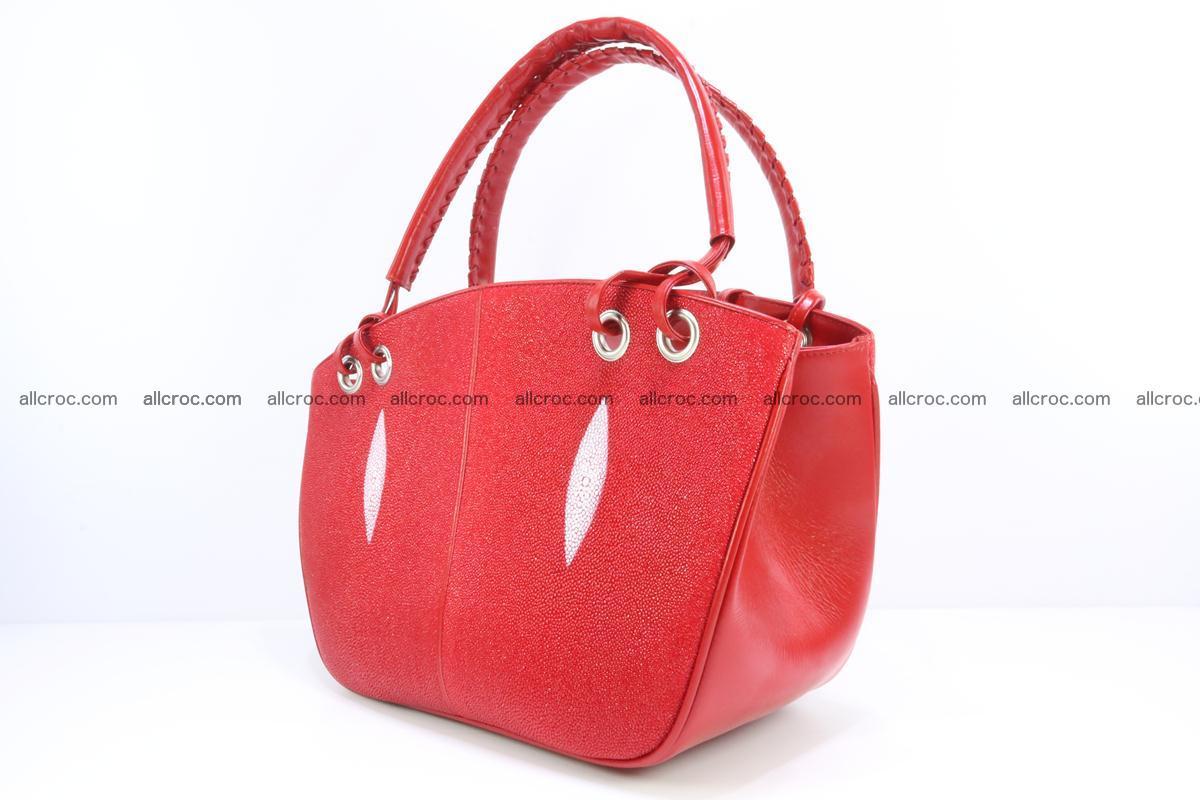 Stingray leather women's handbag 387 Foto 2