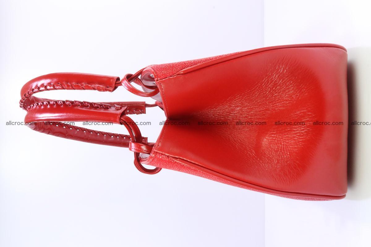 Stingray leather women's handbag 387 Foto 3