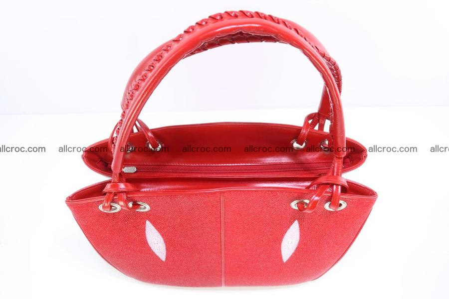 Stingray leather women's handbag 387