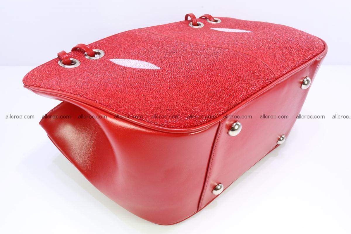 Stingray leather women's handbag 387 Foto 8