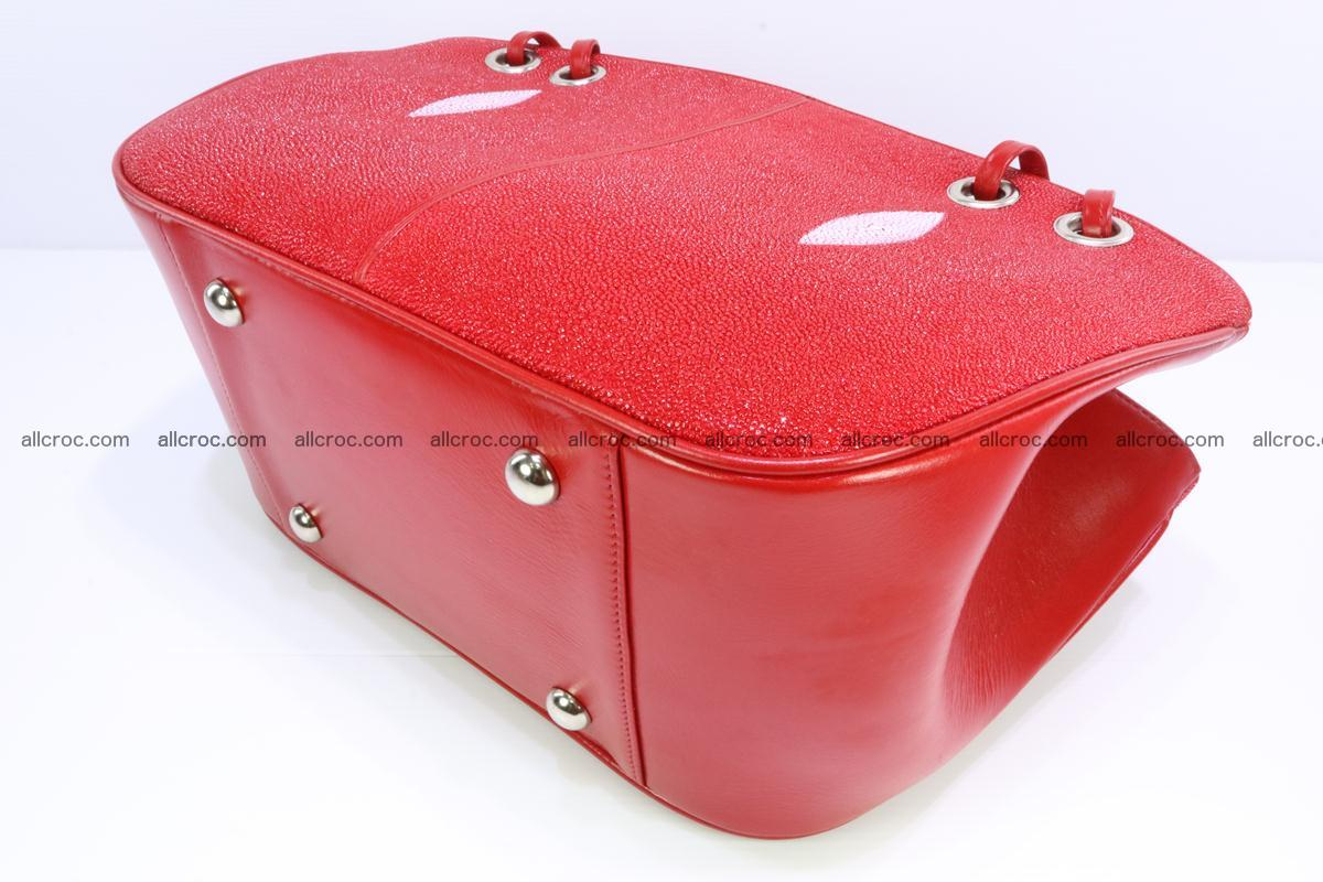 Stingray leather women's handbag 387 Foto 6