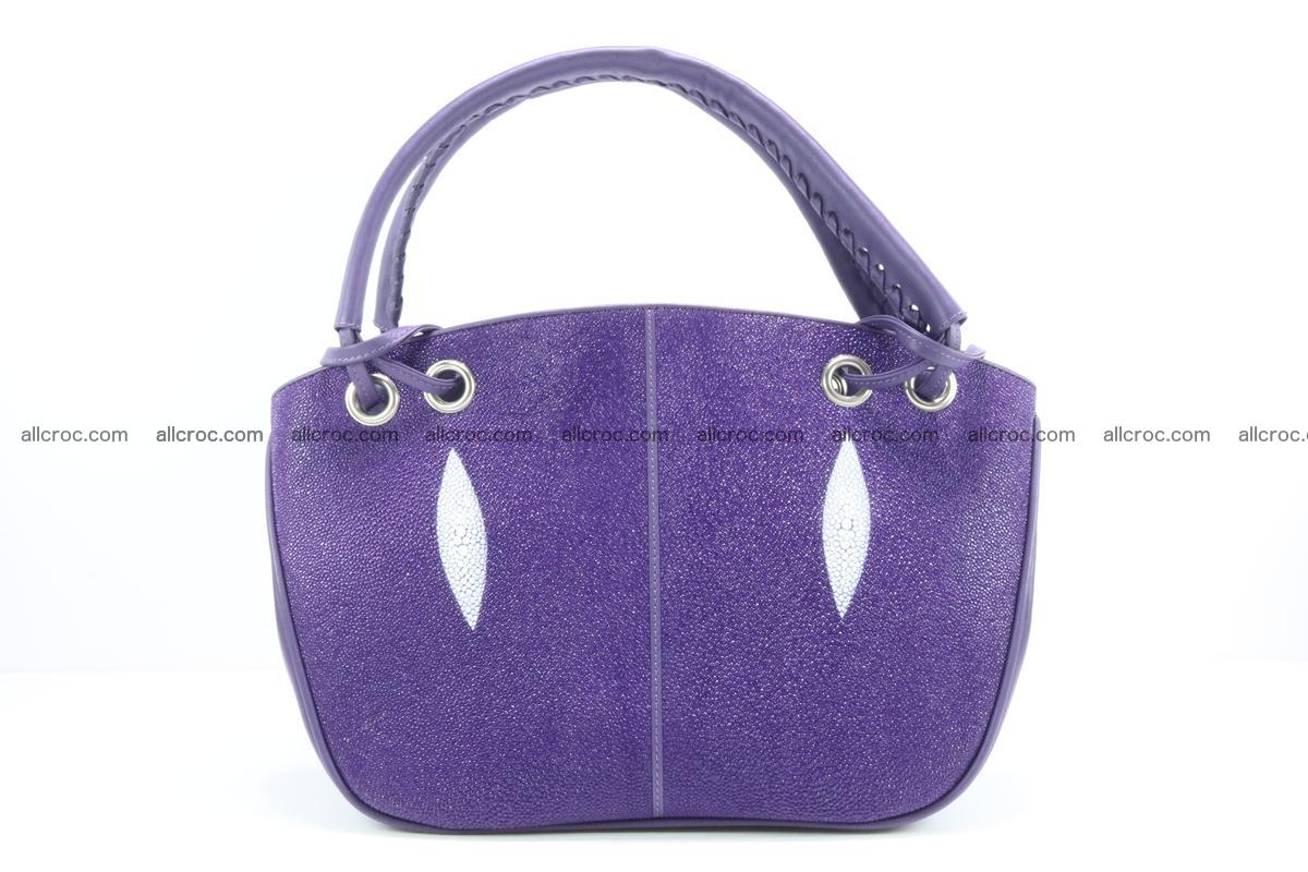 Stingray leather women's handbag 388 Foto 0