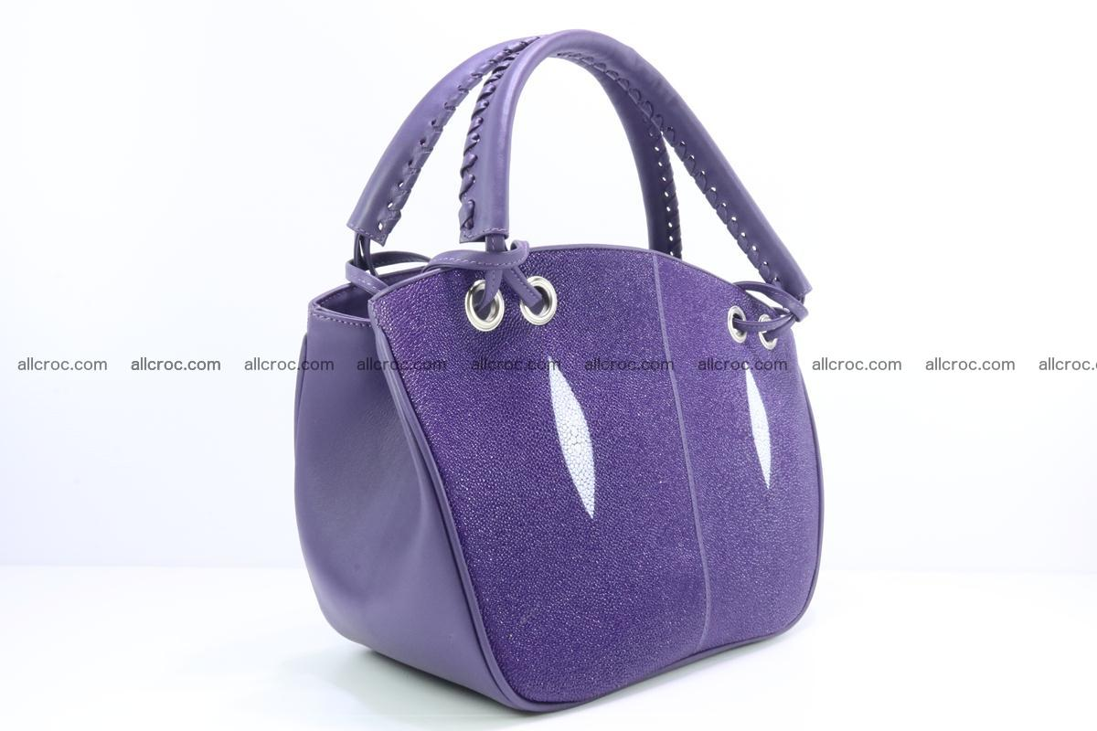 Stingray leather women's handbag 388 Foto 1