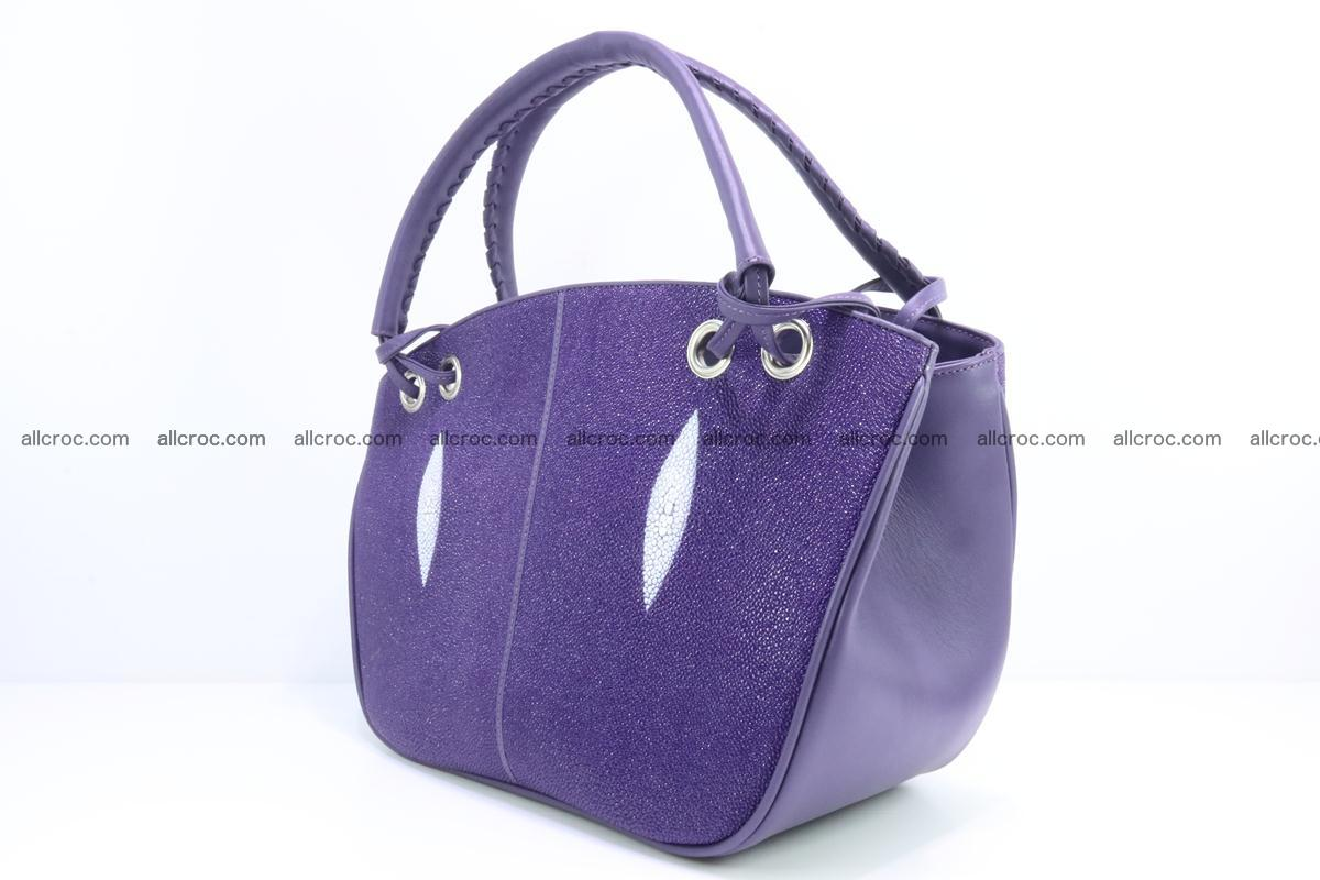 Stingray leather women's handbag 388 Foto 2