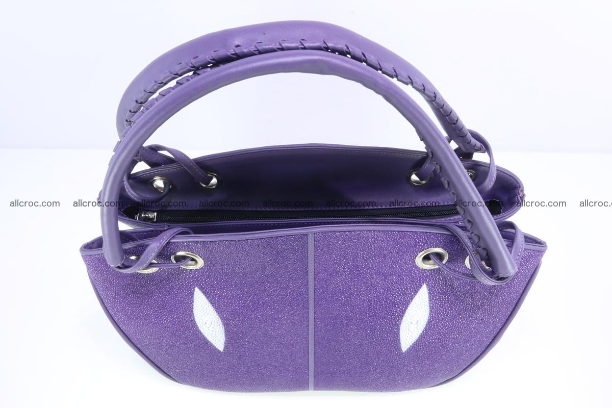 Stingray leather women's handbag 388 Foto 4