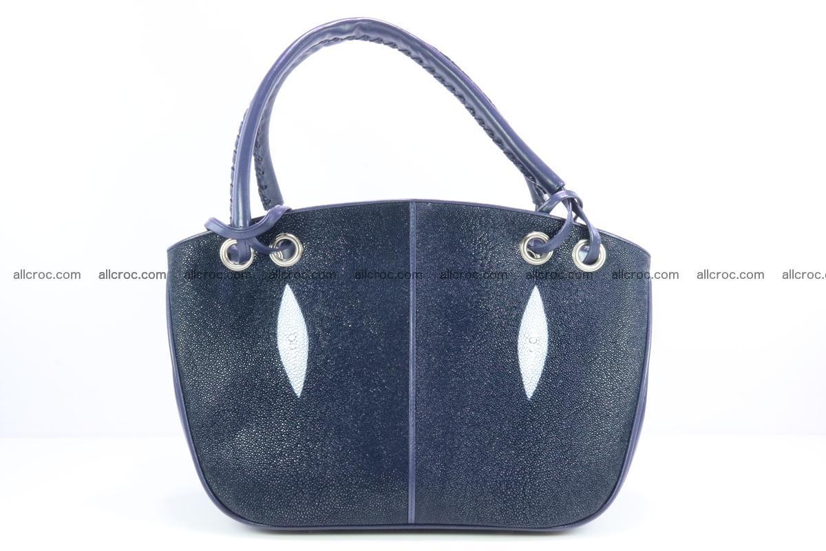Stingray leather women's handbag 389 Foto 0