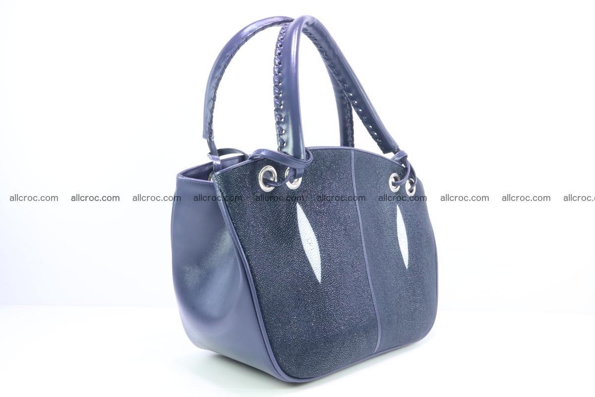 Stingray leather women's handbag 389 Foto 1