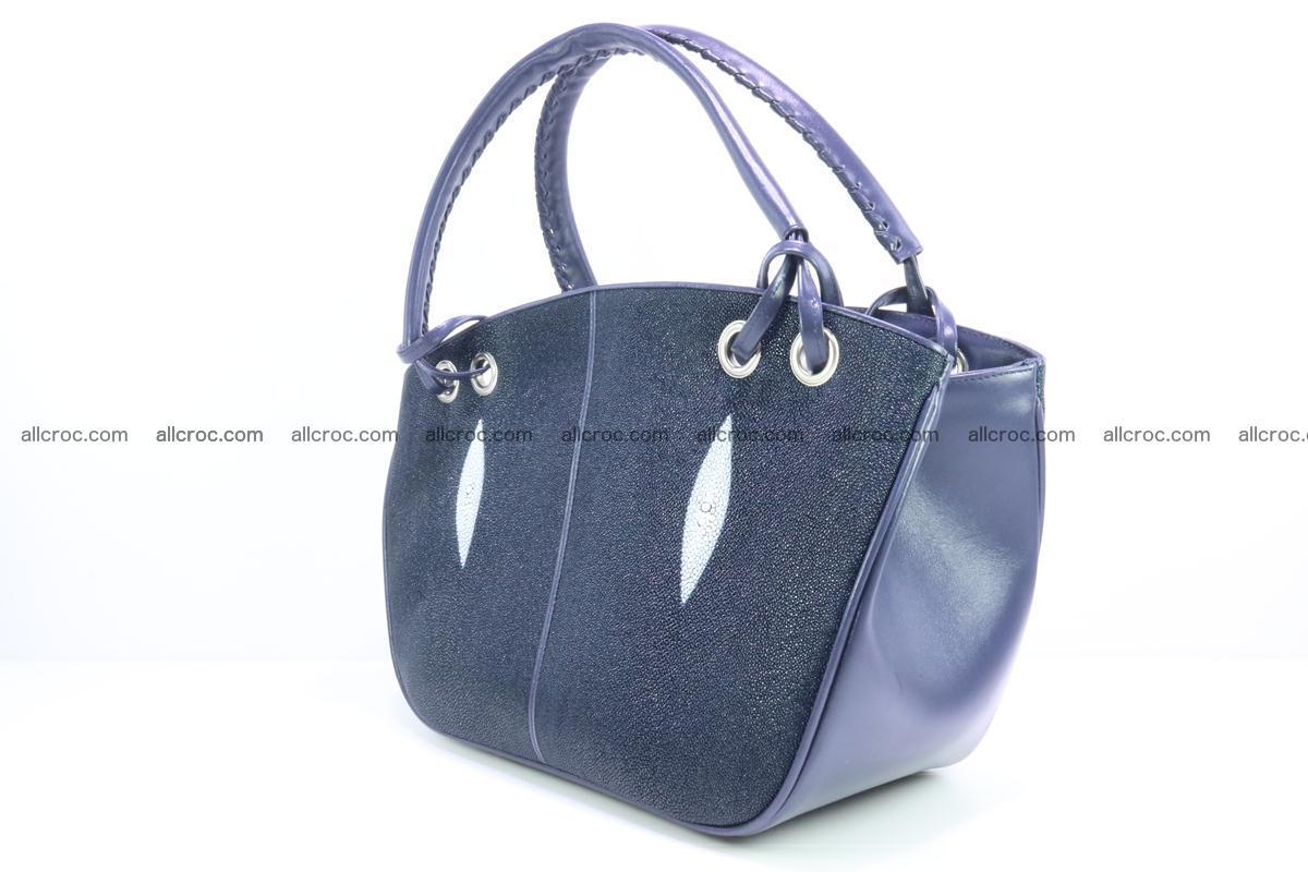 Stingray leather women's handbag 389 Foto 2