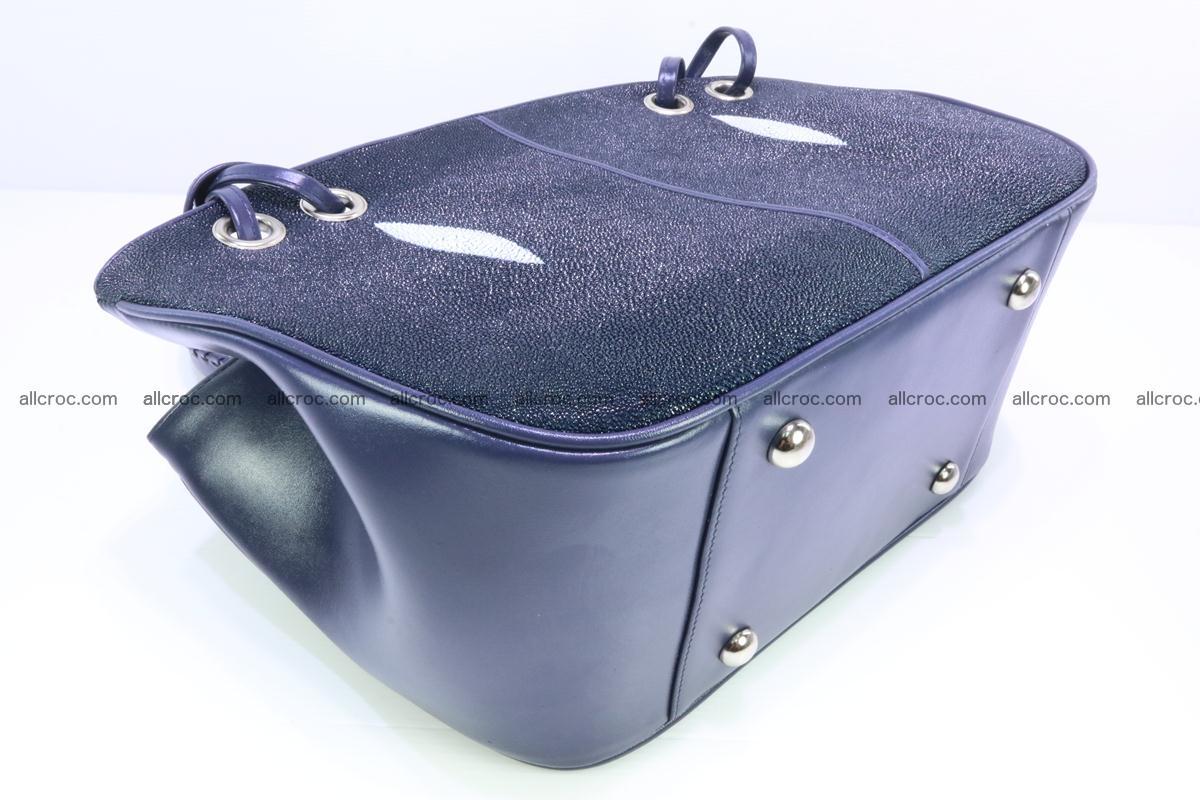Stingray leather women's handbag 389 Foto 6