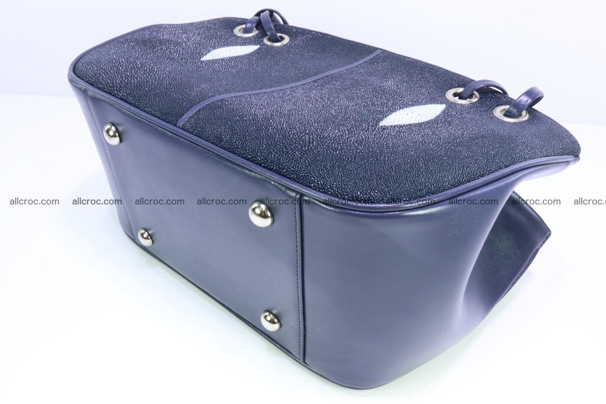 Stingray leather women's handbag 389 Foto 5