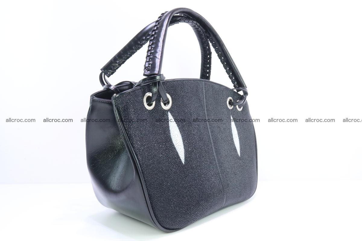 Stingray leather women's handbag 390 Foto 2