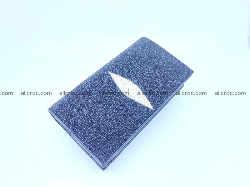 Stingray skin clutch 1144