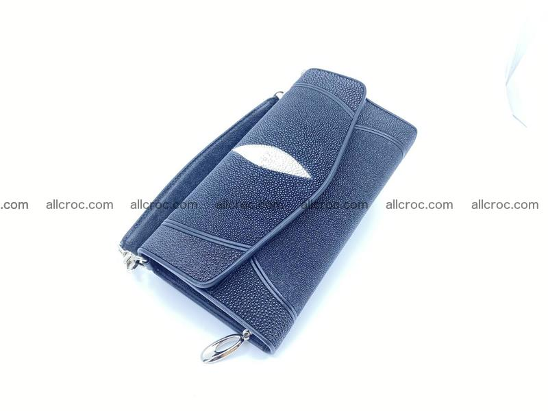 Stingray skin clutch 1129