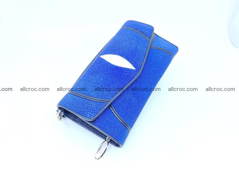 Stingray skin clutch 1130