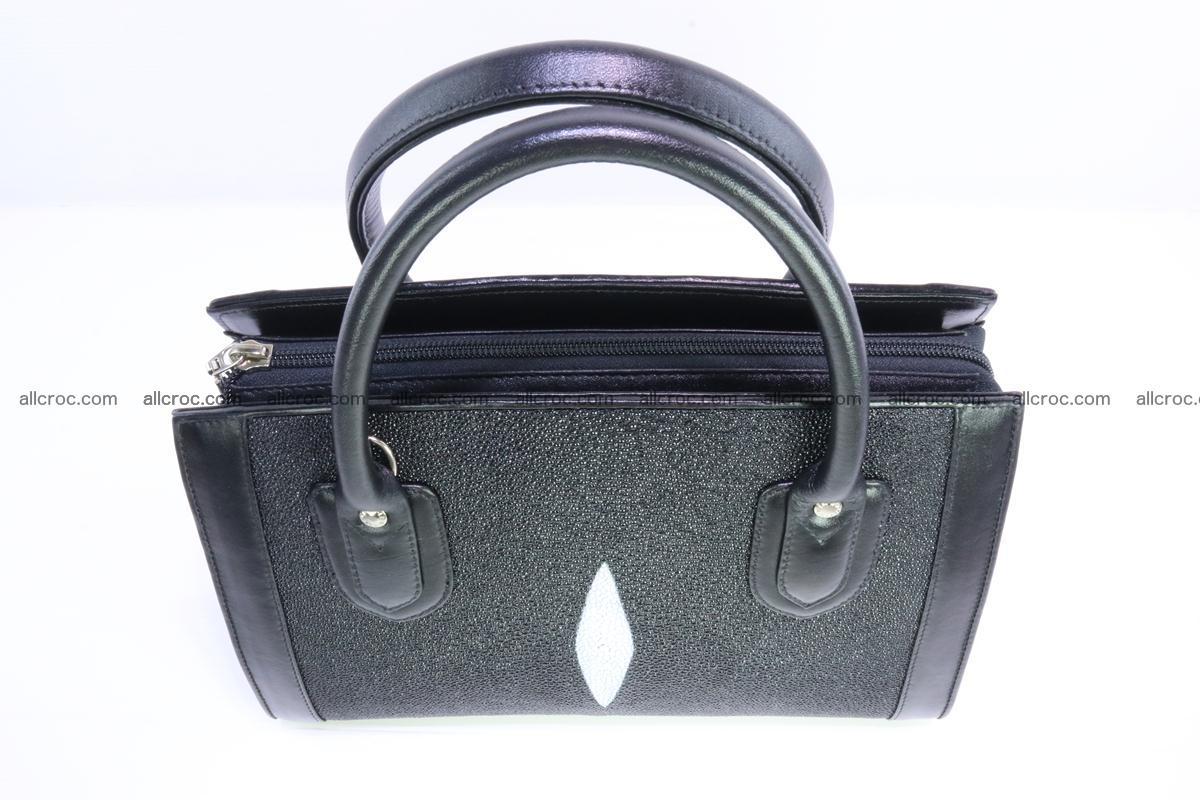 Stingray skin handbag 383 Foto 6