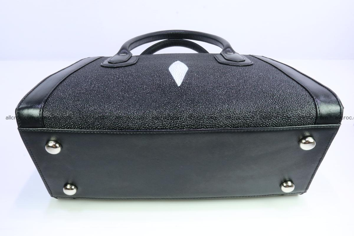 Stingray skin handbag 383 Foto 7