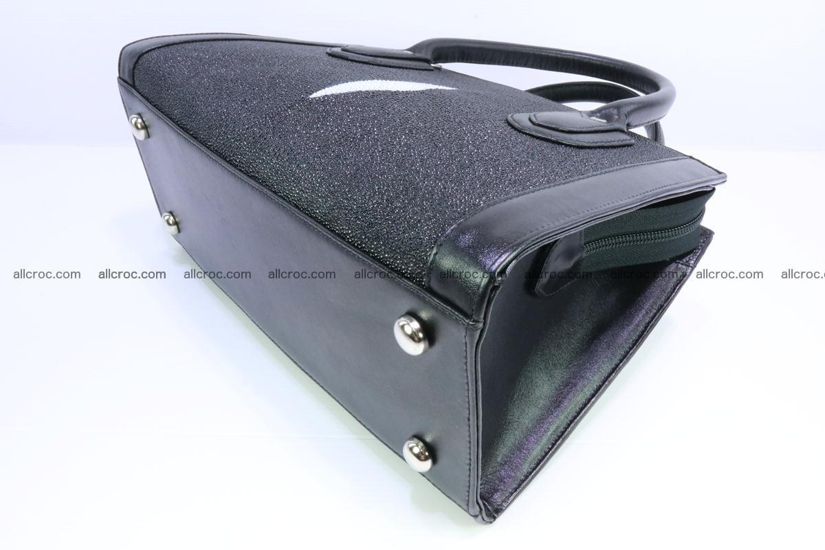 Stingray skin handbag 383 Foto 5