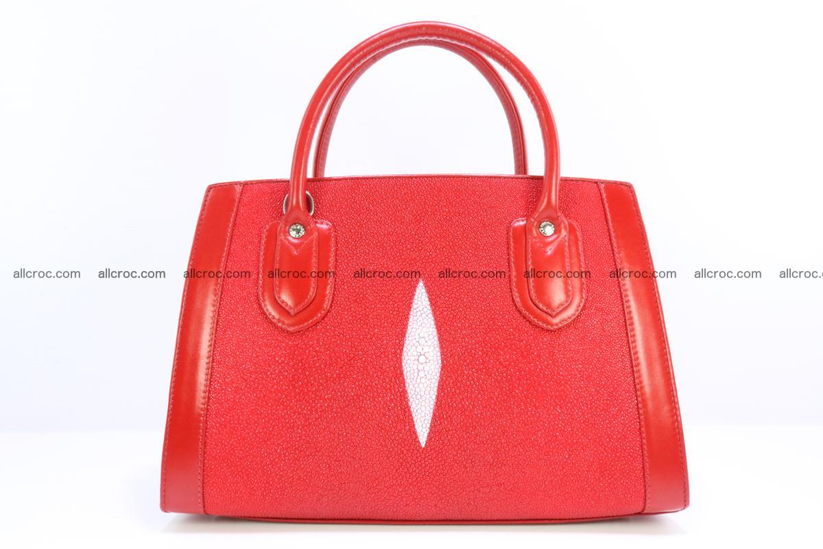 Stingray skin handbag 379 Foto 0